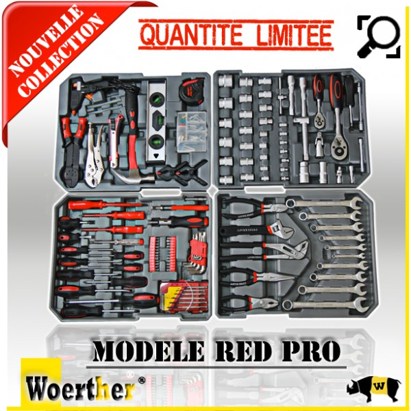 Caisse A Outils Red Pro